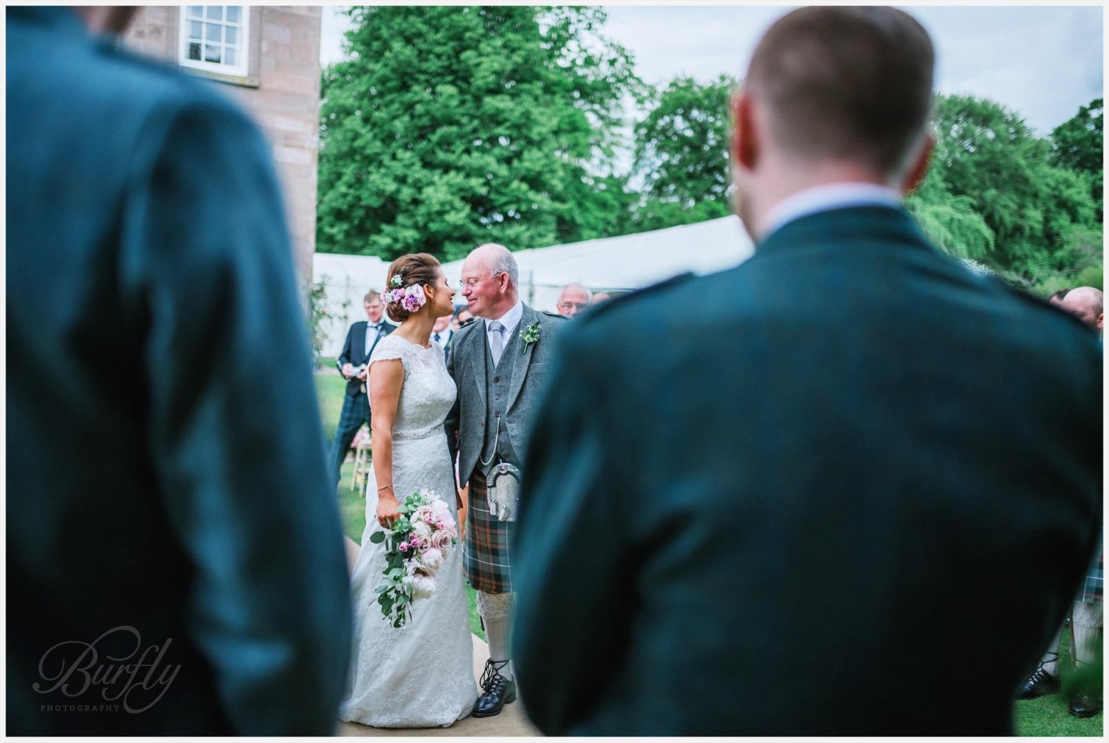 The Burn House Edzell Wedding 39