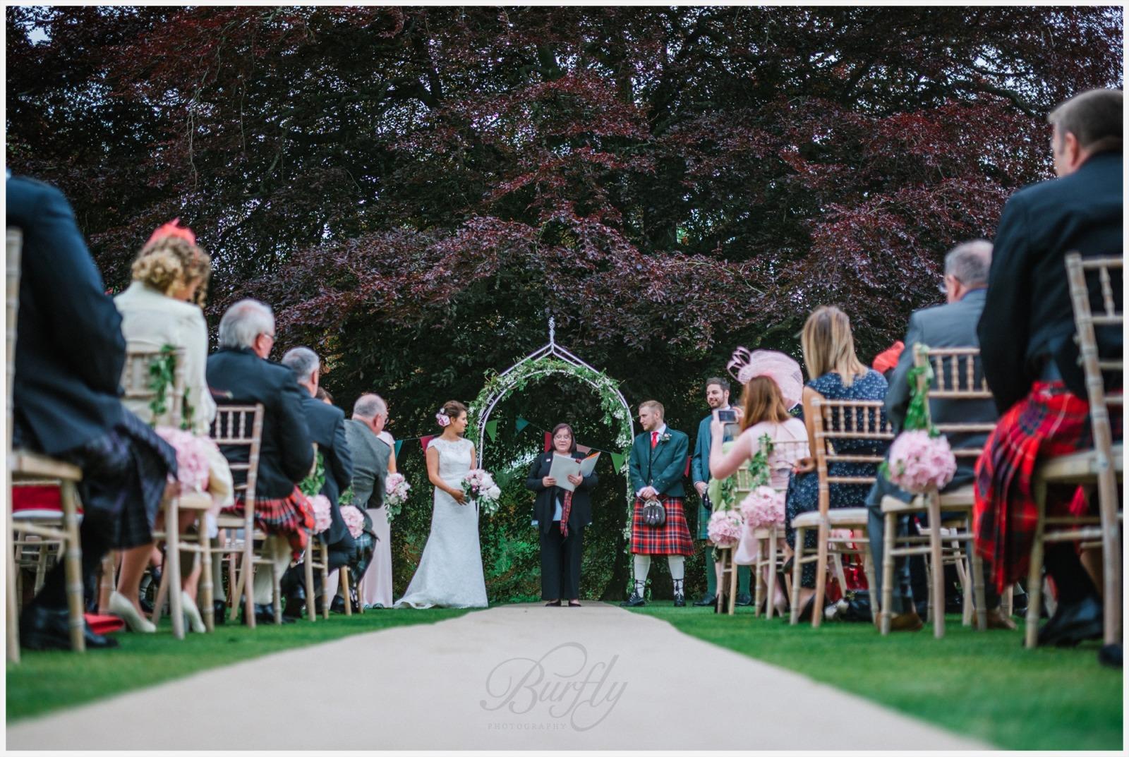 The Burn House Edzell Wedding 40