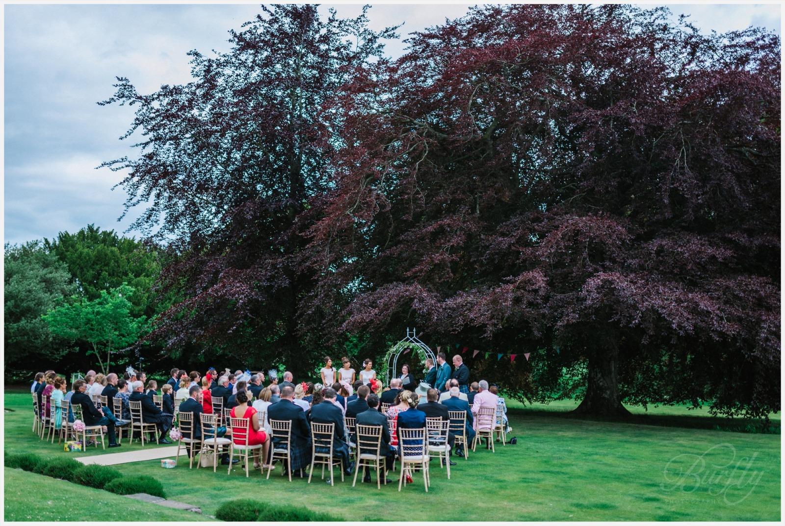 The Burn House Edzell Wedding 41