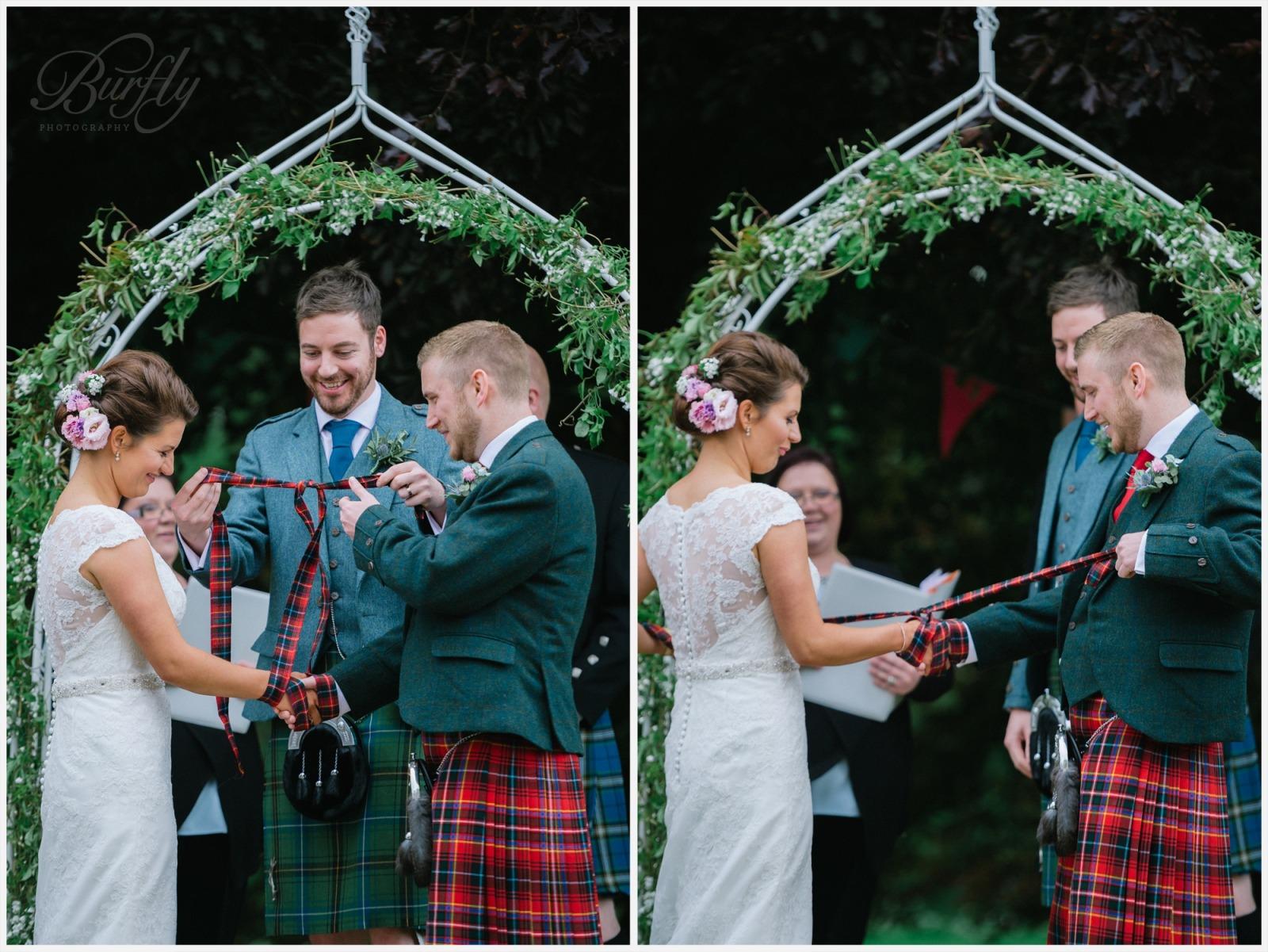 The Burn House Edzell Wedding 43