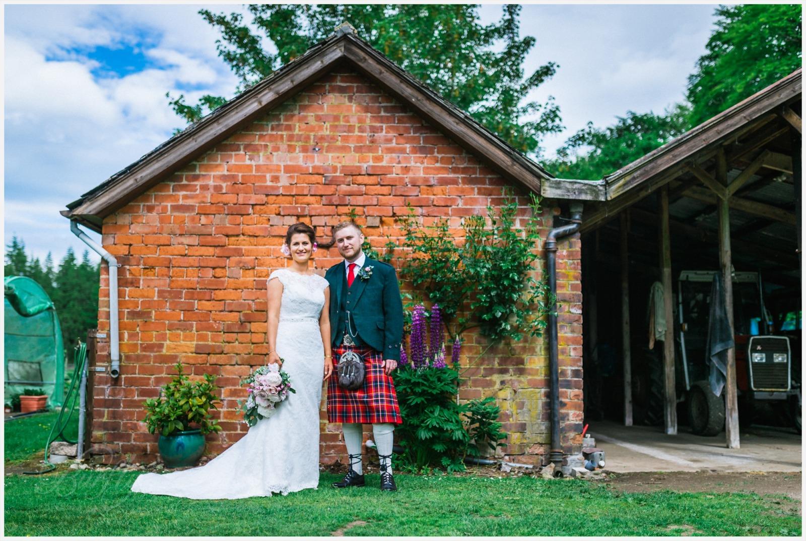 The Burn House Edzell Wedding 63