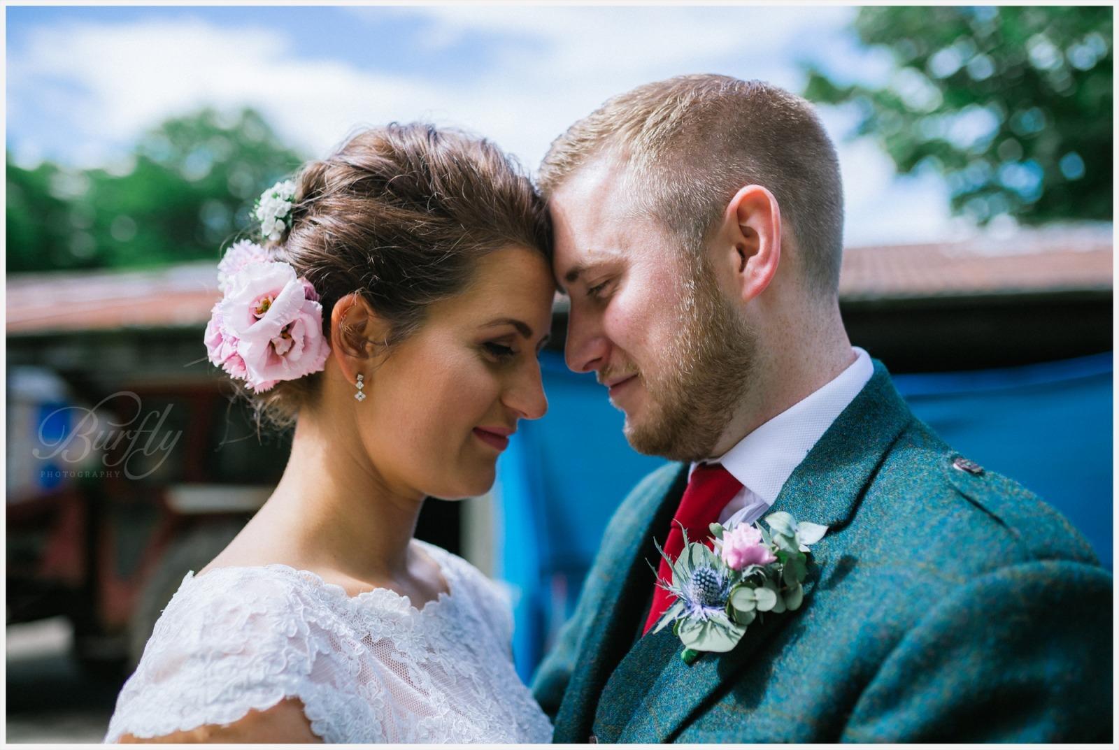 The Burn House Edzell Wedding 71