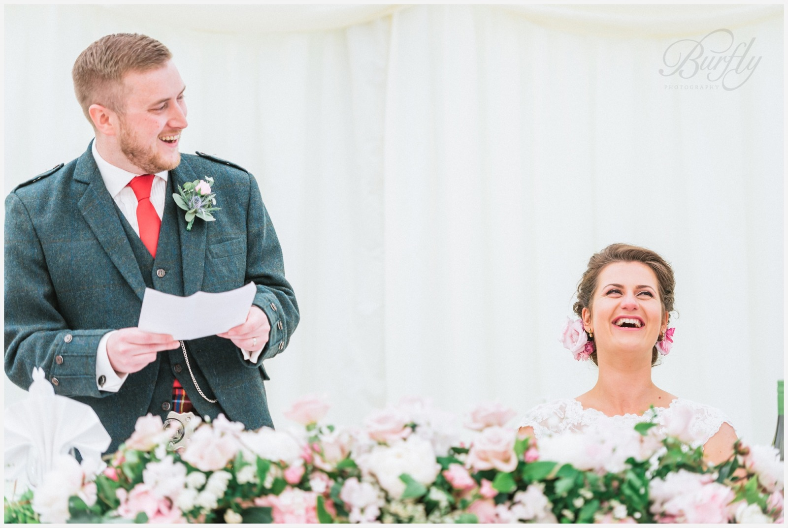 The Burn House Edzell Wedding 84